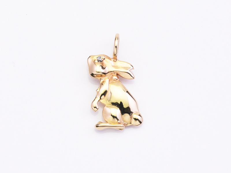 TINY RABBIT PENDANT