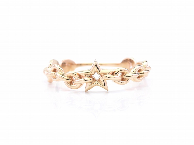 SHAKE CHAIN RING:STAR