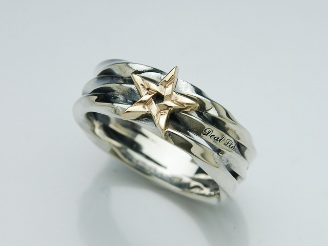 SCREW STAR RING