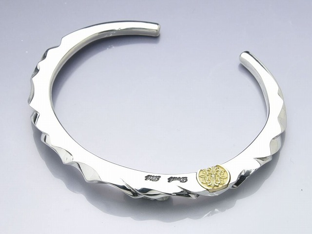 SLICE CUT BANGLE