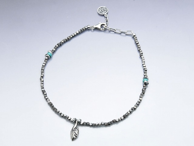 CUBE BEADS ANKLET