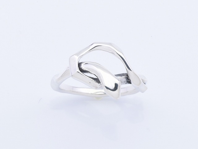 【Safari8月号掲載】KNOT SNAKE RING SINGLE
