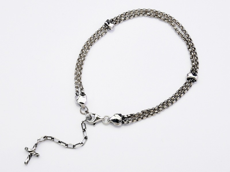 LUXE CHAIN ANKLET:DOUBLE