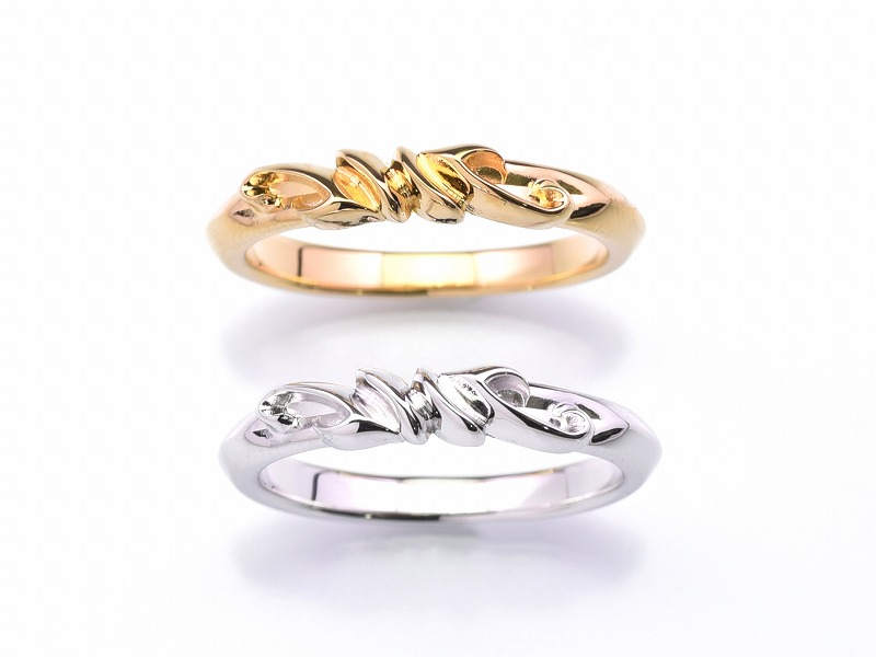 PLEDGE LILY RING(K18)