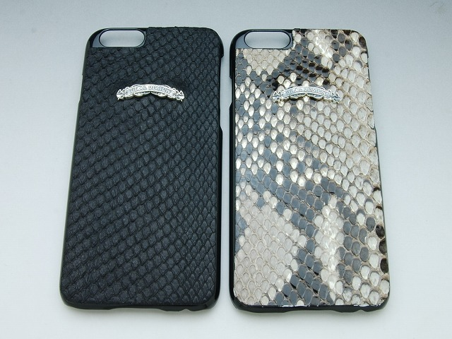 iphone6/6sレザーカバー(パイソン)