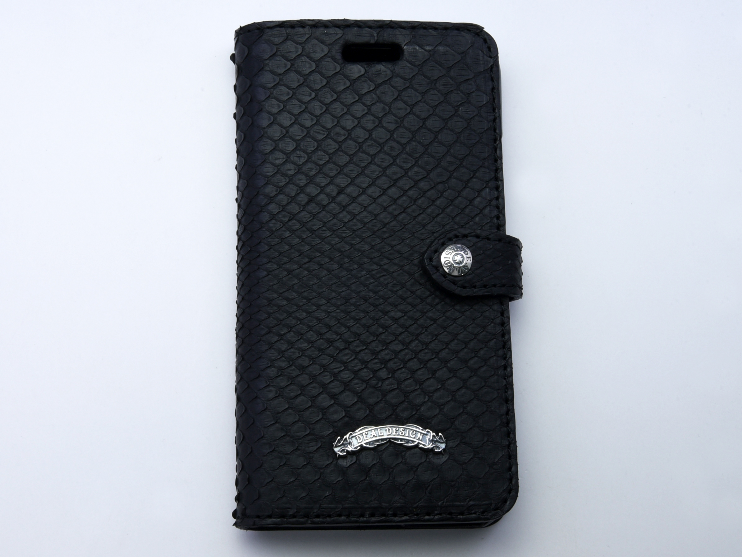 ブックiPhoneX ケース(パイソン,シャーク)