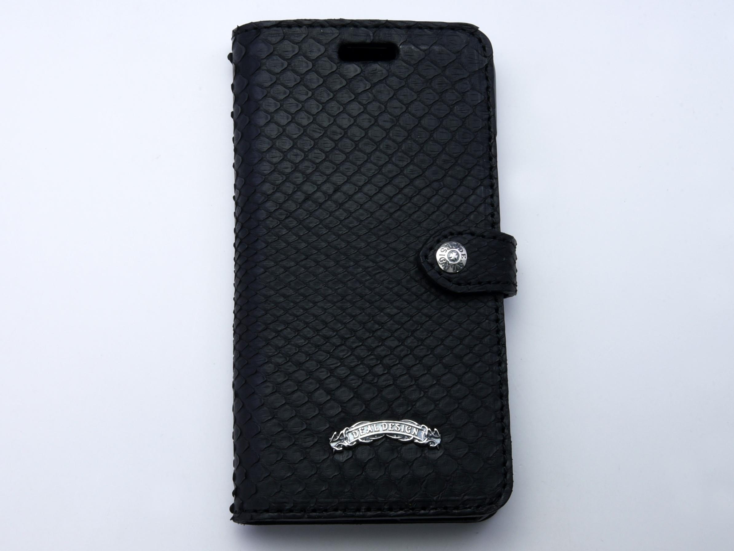 ブックiPhoneX/XS ケース(パイソン,シャーク)