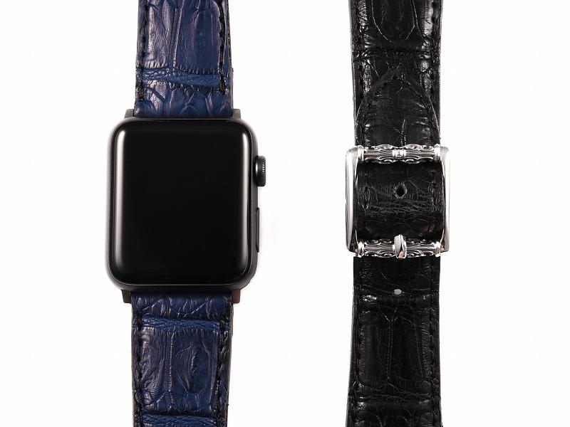 Apple Watch バンド(リアルクロコ)
