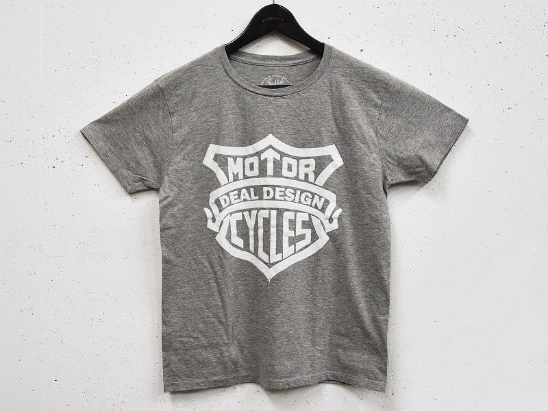 MOTOR CYCLE Tシャツ(グレー)