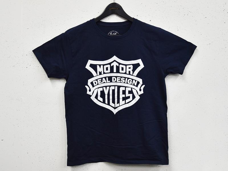 MOTOR CYCLE Tシャツ(ネイビー)