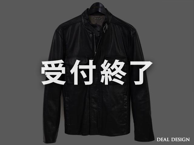 D-65 レザージャケット【先行販売・予約商品】