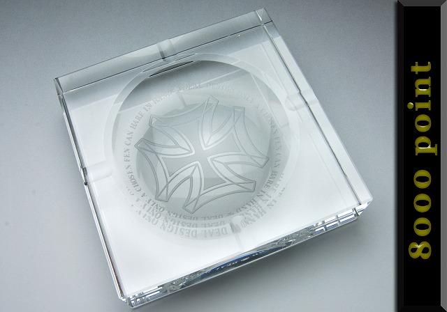 【ポイントプレミアム】クリスタル灰皿【8000point】