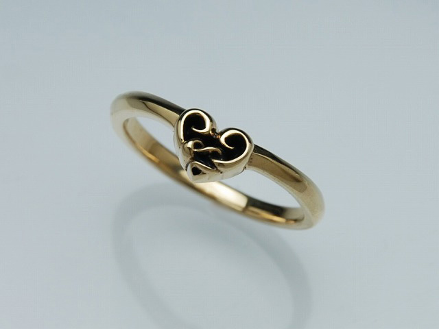 SNAKE WIRE RING:K10