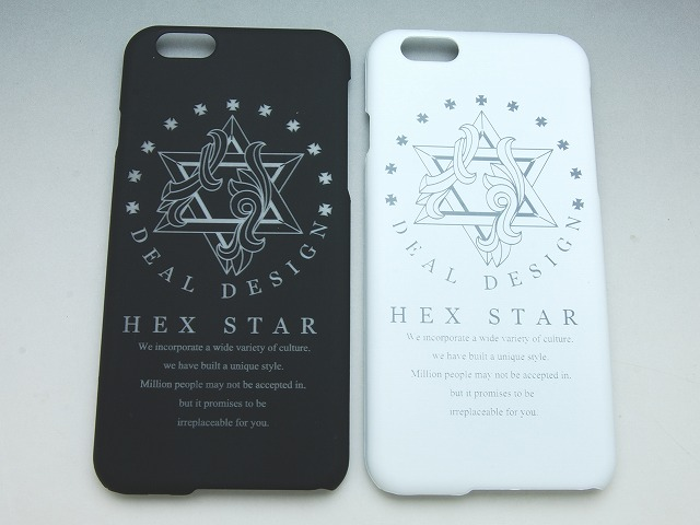 マットiphone6/6sケース:HEX STAR