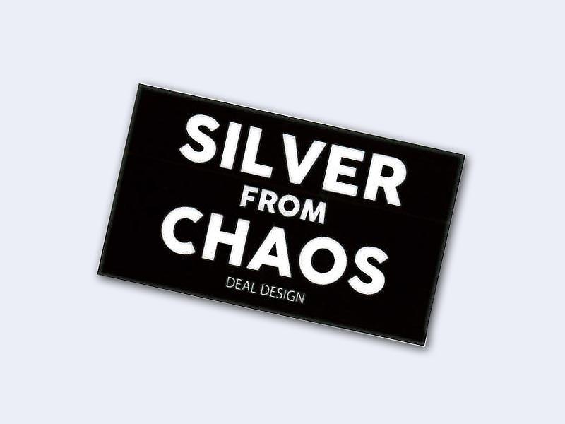 コレクションステッカー:SILVER FROM CHAOS